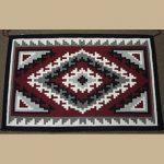 Navajo Ganado Rug for Sale by Lydia Chef