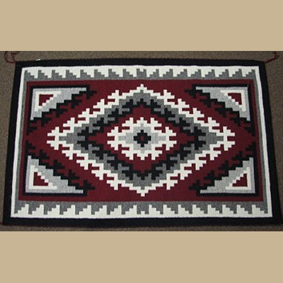Navajo Ganado Rug for Sale by Lydia Chef