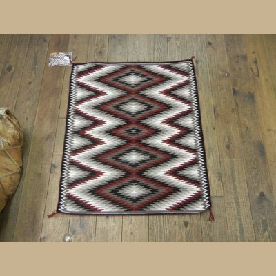 Navajo Eye dazzler Rug for Sale by Verna Begay