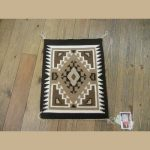 Navajo Two Grey Hills Small Rug for Sale by Albert Jim