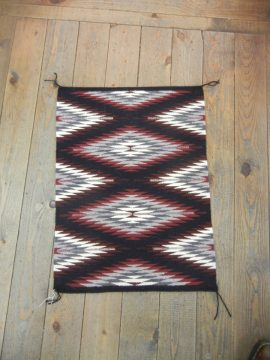Navajo Eyedazzler Rug by Carolyn Wood