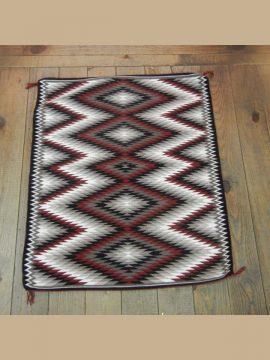 Navajo Eyedazzler Rug by Verna Begay