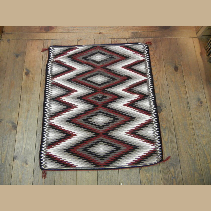 Navajo Eye dazzler Rug for Sale by Verna Begay