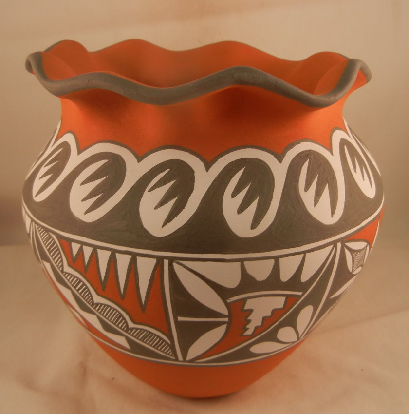 Jemez Traditional Vase by Mary Small