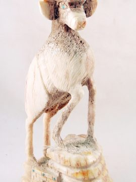 "Zuni Jerrold Lahaleon Antler ""Proud Deer"" Fetish"