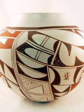 Hopi Frog Woman (Joy Navasie) Traditional Vase