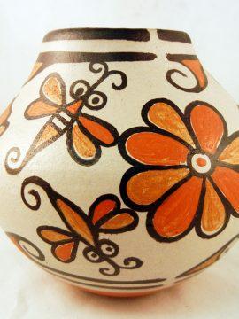 Santo Domingo Rose Pacheco Polychrome Dragonfly Jar