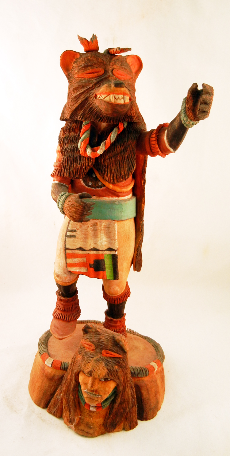 Hopi Fred Chapella Bear Kachina