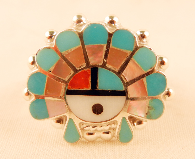 native-american-indian-jewelry-zuni-turquoise-ring-multi-stone-inlay-sunface (1)