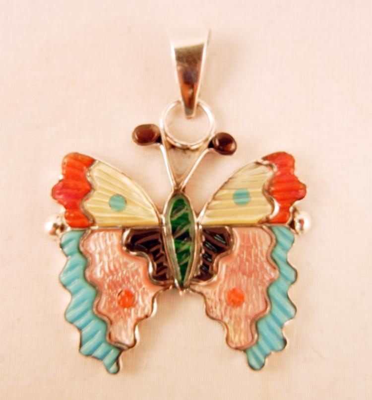 native-american-indian-jewelry-zuni-pendants-multi-stone-inlay-butterfly (1)