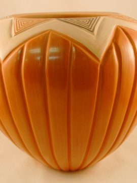 Jemez Pauline Romero Melon Vase