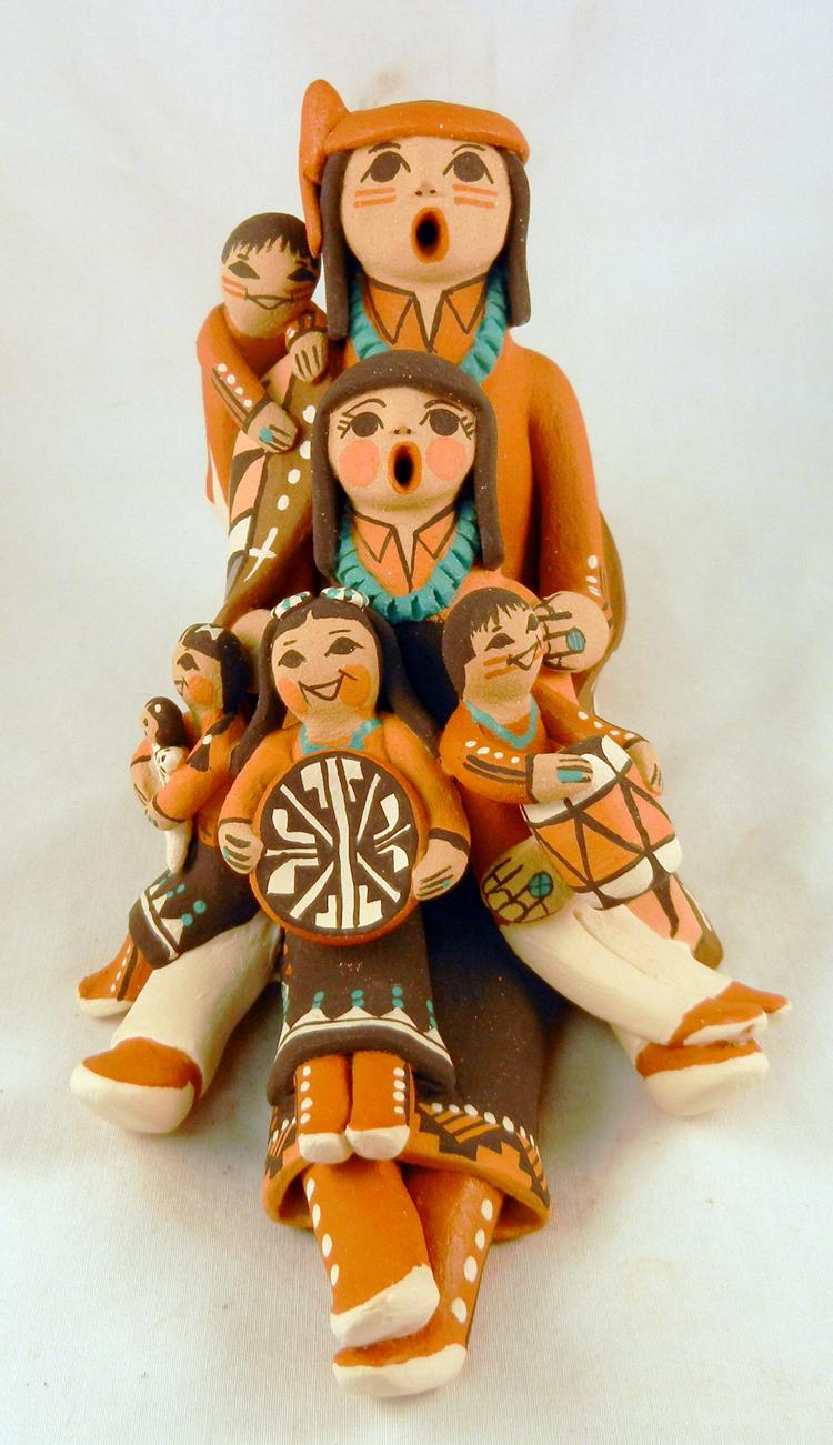Jemez Carol Lucero-Gachupin Storyteller Family