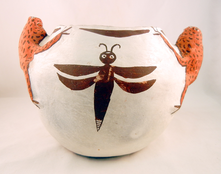 Zuni Nellie Bica Older Fertility Bowl