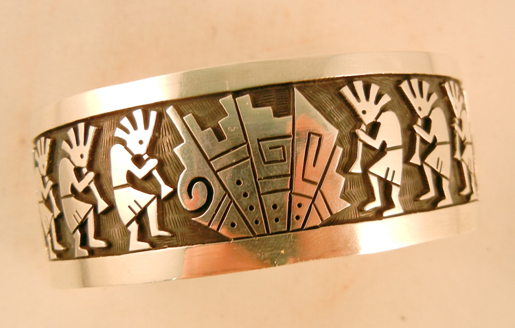 native-american-indian-jewelry-hopi-bracelet-sterling-silver-overlay-kokopelli (1)