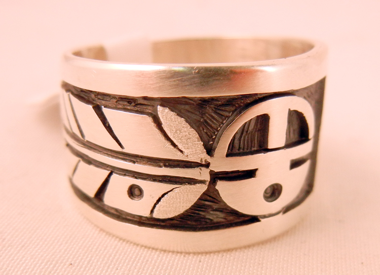native-american-indian-jewelry-navajo-ring-sterling-silver-overlay-feather-sunface-bear-paw (1)