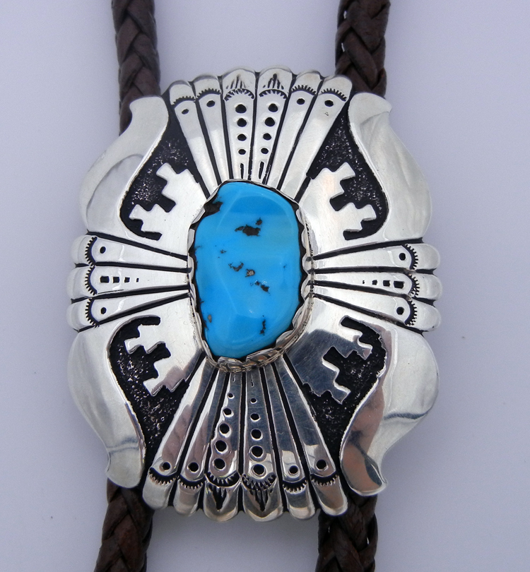 native-american-indian-jewelry-navajo-bolo-tie-rosita-singer-turquoise-sterling-silver-overlay (2)