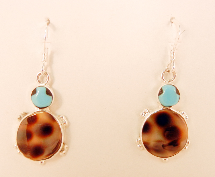 native-american-indian-jewelry-zuni-earrings-multi-stone-inlay-turtles