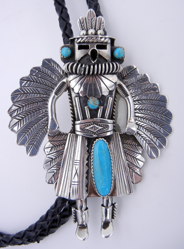 native-american-indian-jewelry-navajo-bolo-tie-turquoise-sterling-silver-will-denetdale (2) – Copy