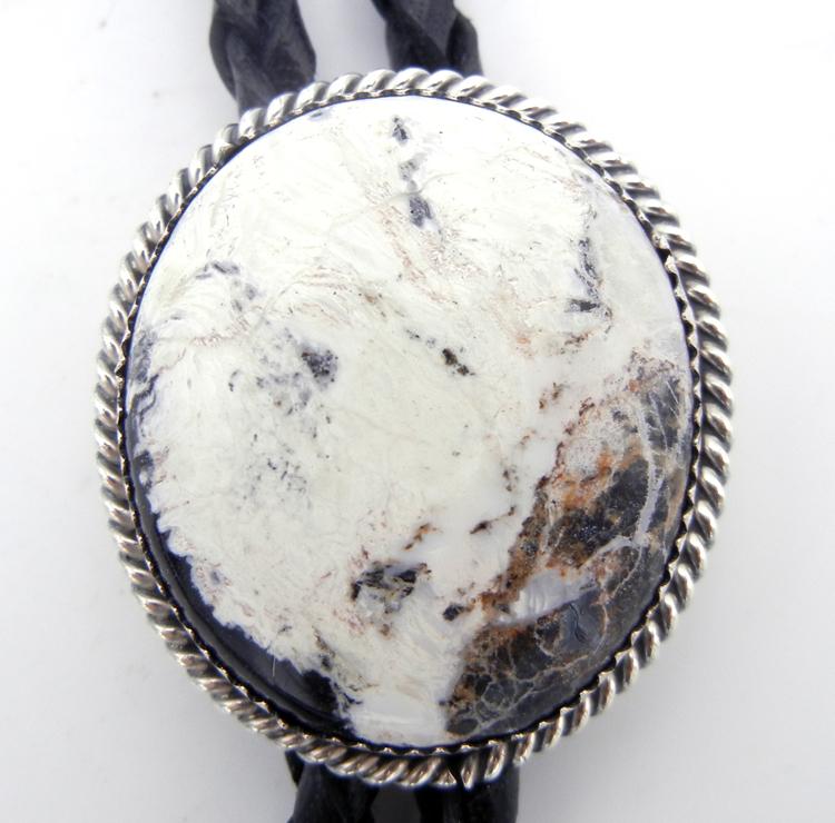 native-american-indian-jewelry-navajo-bolo-tie-white-buffalo-sterling-silver (2)