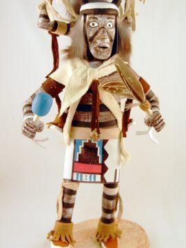 Navajo Arvin Morris Koshare (Clown) Kachina