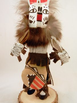 Navajo Harrison Jones Dog Kachina