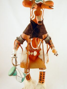 Navajo Mudhead Kachina