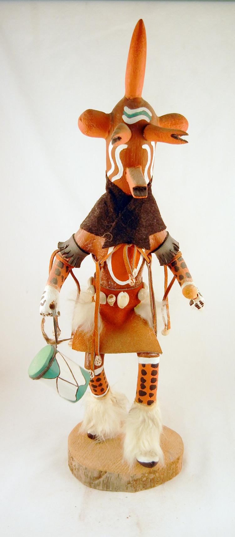 Navajo Carved Mudhead Kachina Doll