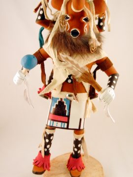 Navajo Arvin Morris Piggyback Mudhead Kachina