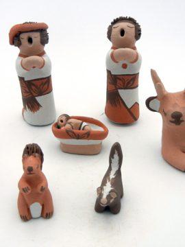 Isleta Mona Teller Seven Piece Nacimiento (Nativity Scene)