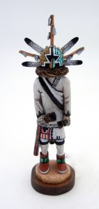 Hopi hand carved Chief Kachina by Wilmer Kaye