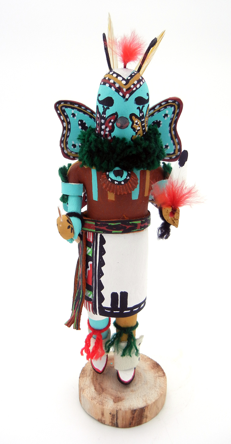 Jemez Paul Gachupin Butterfly Man Kachina