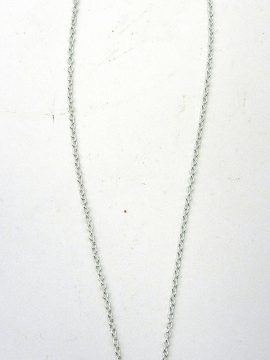Navajo Druzy and Sterling Silver Necklace