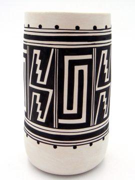 Laguna Myron Sarracino Handmade and Hand Painted Cylinder