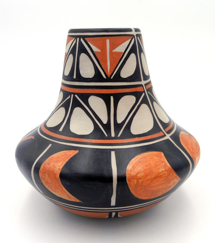"Santo Domingo Robert Tenorio Polychrome ""Eclipse"" Jar"