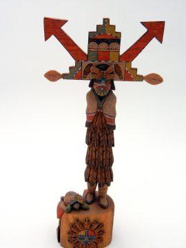 Hopi Jimmie Lucero Shalako Mana Kachina