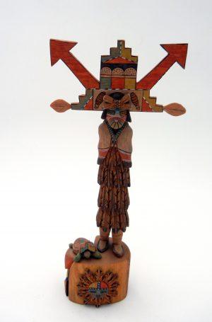 Hopi Shalako Mana Kachina by Jimmie Lucero