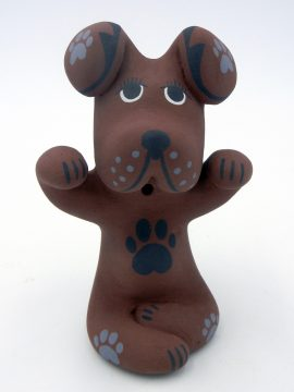 Jemez Darrick Tsosie Small Dog Figurine