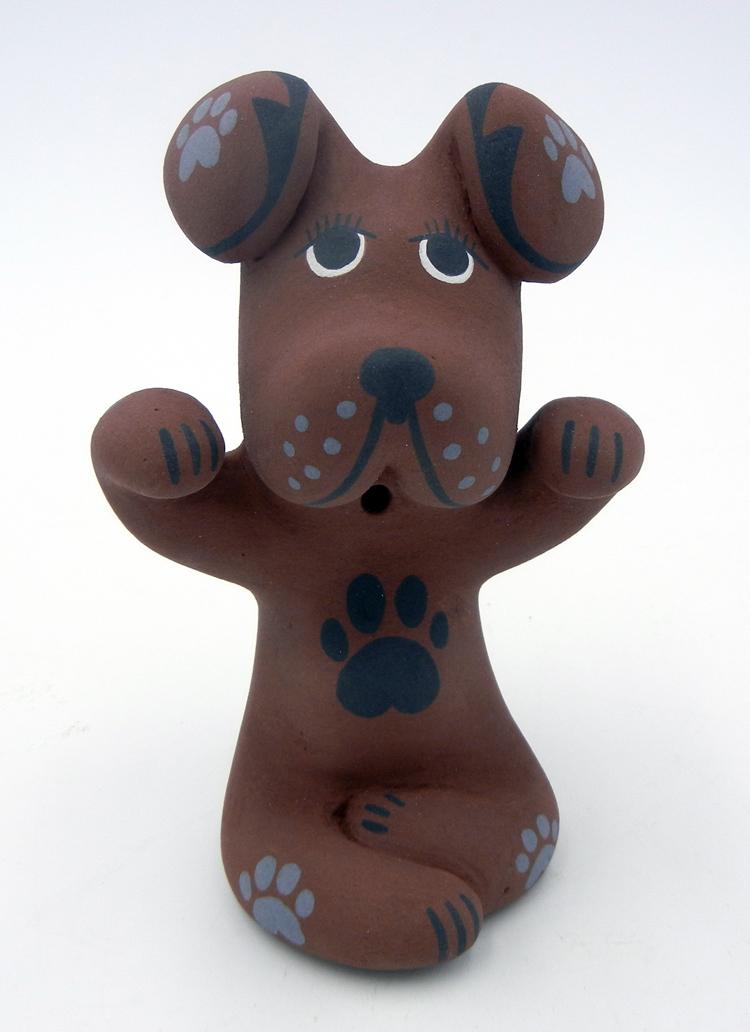 Jemez Darrick Tsosie Small Dog Figurine