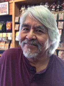 Navajo silversmith Eugene Mitchell