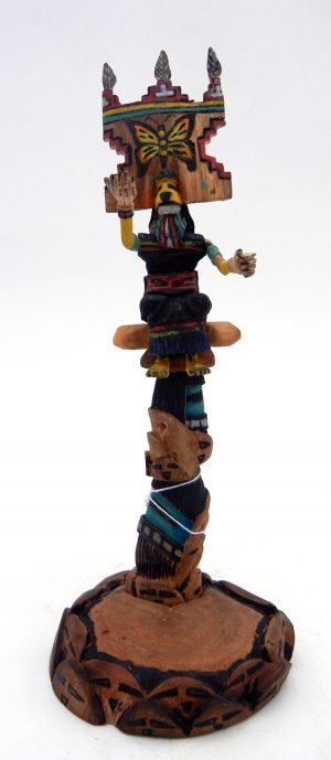 Hopi/Laguna butterfly maiden kachina doll by Ray Jose