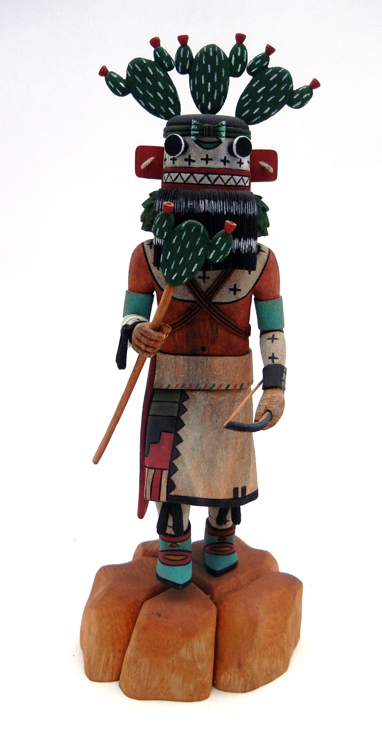 Hopi Jocelyn Vote Yung'a (Cactus) Kachina