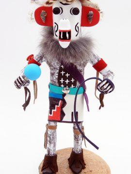Navajo Arvin Morris White Ogre Kachina