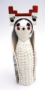 Acoma polychrome corn maiden figurine by Judy Lewis