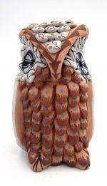 Jemez polychrome owl figurine by Darrick Tsosie