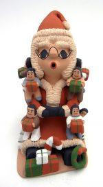 Jemez Mrs. Claus storyteller with nine children by Deborah Kiki Loretto Seonia