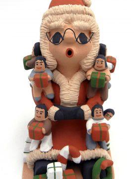 "Jemez Deborah ""Kiki"" Loretto Seonia Mrs. Claus Storyteller with Nine Children"
