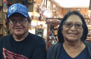 Navajo potters Kenneth and Irene White