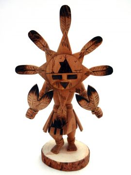 Navajo Robert Platero Starface Kachina Doll