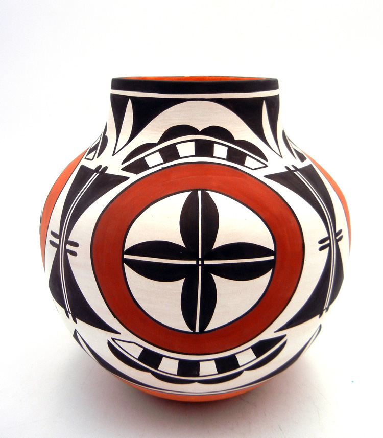 Laguna Myron Sarracino Polychrome Multi-Pattern Jar
