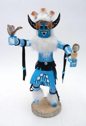 Navajo medicine man kachina doll by Bessie Kee